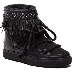 Buty zimowe damskie: Buty INUIKII - Sneaker Fringes 70202-29 Black