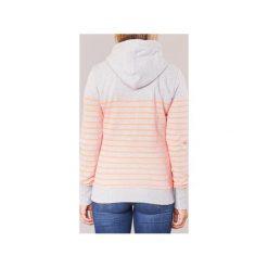 Bluzy Superdry  SUN   SEA ZIPHOOD. Szare bluzy damskie marki Superdry, l, z nadrukiem, z bawełny, z okrągłym kołnierzem. Za 272,30 zł.