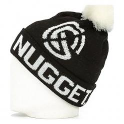 Nugget Czapka Unisex Johny Beanie, Czarna. Czarne czapki zimowe damskie Nugget. Za 92,00 zł.