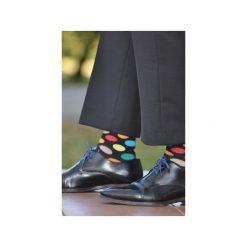 Skarpetki męskie: Skarpetki w kolorowe kropki