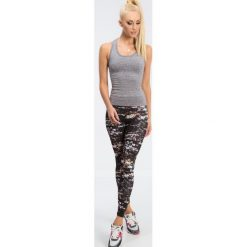 Czarne legginsy w roślinne wzory H001. Czarne legginsy marki Fasardi, s. Za 59,00 zł.