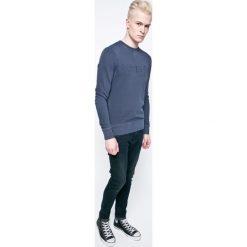Wrangler - Bluza. Szare bluzy męskie rozpinane marki Wrangler, l, z nadrukiem, z bawełny. W wyprzedaży za 199,90 zł.