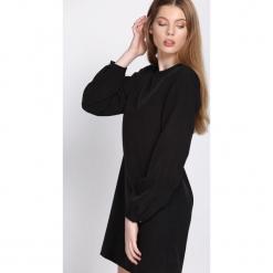 Czarna Sukienka Reliability. Czarne sukienki hiszpanki Born2be, l, mini. Za 89,99 zł.