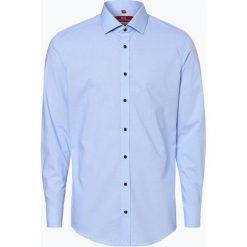 Finshley & Harding London - Koszula męska, niebieski. Niebieskie koszule męskie na spinki Finshley & Harding London, m, z kontrastowym kołnierzykiem. Za 99,95 zł.