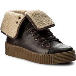 Botki LASOCKI - WI23-PIETRA-04 Brązowy Ciemny. Brązowe buty zimowe damskie Lasocki, z materiału. Za 229,99 zł.