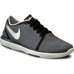 Buty NIKE - Lunar Sculpt 818062 006 Black/Summit White/Dark Grey. Szare buty do fitnessu damskie Nike, z materiału. W wyprzedaży za 299,00 zł.