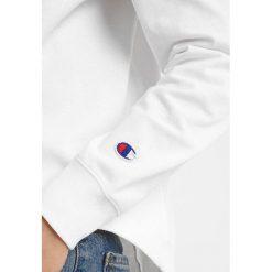 Bluzki asymetryczne: Champion Reverse Weave CROPPED Bluzka z długim rękawem white