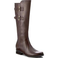 Oficerki CAPRICE - 9-25533-29 Dk Brown Nappa 337. Czarne buty zimowe damskie marki Caprice, z materiału. W wyprzedaży za 369,00 zł.