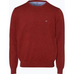 Fynch Hatton - Sweter męski, pomarańczowy. Brązowe swetry klasyczne męskie Fynch-Hatton, m, z dzianiny. Za 249,95 zł.