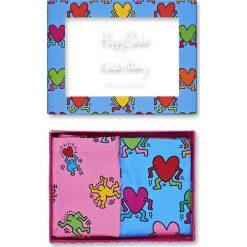 Happy Socks - Figi Keith Haring Cheeky (2-pak). Niebieskie figi Happy Socks, l, z dzianiny. W wyprzedaży za 139,90 zł.