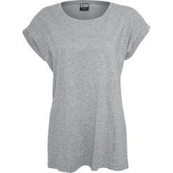 Urban Classics Ladies Extended Shoulder Tee Koszulka damska szary. Szare bluzki z odkrytymi ramionami Urban Classics, l, z dekoltem w łódkę. Za 32,90 zł.
