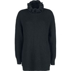 Banned Alternative Collar Knit Sweter damski czarny. Czarne golfy damskie Banned Alternative, s, z dzianiny. Za 199,90 zł.
