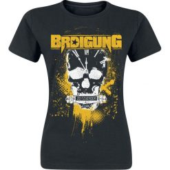 Bluzki asymetryczne: BRDigung Zeitzünder Koszulka damska czarny