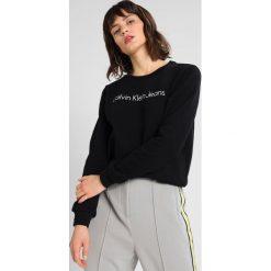 Bluzy damskie: Calvin Klein Jeans HALI Bluza black