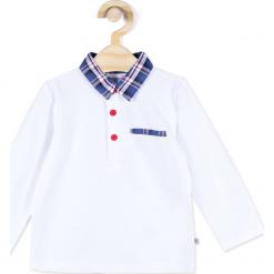 Koszulka. Białe t-shirty chłopięce z krótkim rękawem Merry Christmas, z bawełny. Za 45,90 zł.
