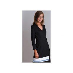 Klasyczna czarna sukienka wizytowa CALA. Brązowe sukienki balowe marki Mohito, l, z kopertowym dekoltem, kopertowe. Za 340,00 zł.