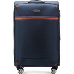 Walizka średnia 56-3S-492-90. Niebieskie walizki marki Wittchen, średnie. Za 199,00 zł.