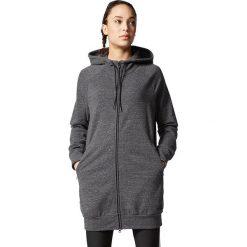 Bluzy rozpinane damskie: Adidas Bluza damska Cotton Fleece Fullzip Hoody grafitowa r. XXS (AX7522)