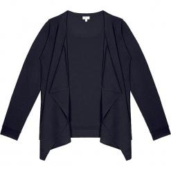 Sweter kaszmirowy 2w1 w kolorze czarnym. Czarne kardigany damskie marki Ateliers de la Maille, z kaszmiru. W wyprzedaży za 591,95 zł.