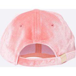Pieces - Czapka Romina. Szare czapki z daszkiem damskie marki Pieces, z bawełny. W wyprzedaży za 39,90 zł.