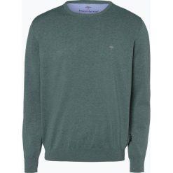 Fynch Hatton - Sweter męski, zielony. Zielone swetry klasyczne męskie Fynch-Hatton, m, z dzianiny. Za 249,95 zł.