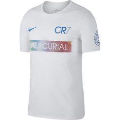 Nike Koszulka Ronaldo M NK Dry Tee Mercurial biała r. L (882703 100). Białe t-shirty męskie Nike, l. Za 119,00 zł.
