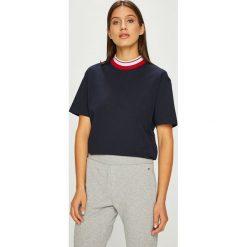 Calvin Klein - Top. Szare topy damskie marki Calvin Klein, l, z bawełny. Za 249,90 zł.