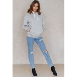 Bluzy rozpinane damskie: Statement By NA-KD Influencers Bluza Noholita - Grey