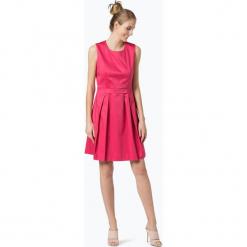 BOSS - Sukienka damska – Hinawa1, różowy. Czerwone sukienki na komunię Boss, rozkloszowane. Za 849,95 zł.