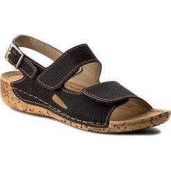 Rzymianki damskie: Sandały INBLU – GO051N45 Czarny