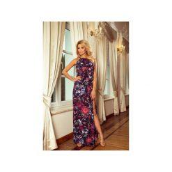 SUKIENKA PARADISE Z ROZCIĘCIEM. Fioletowe długie sukienki marki Dressroad, l, z wiskozy, z długim rękawem. Za 112,00 zł.