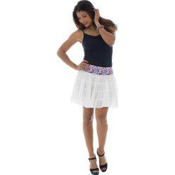 Minispódniczki: Spódnica w kolorze białym