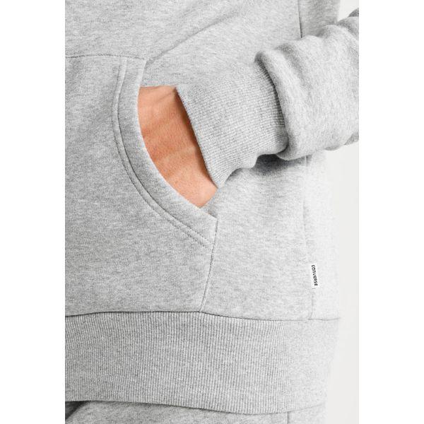 Converse CORE Bluza rozpinana vintage grey heather zalando szary bawełna