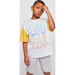Odzież chłopięca: Mango Kids – T-shirt dziecięcy Cali 110-164 cm