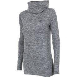 Damska bluza funkcyjna 4F z wysokim golfem. Szare bluzy rozpinane damskie N/A, z dzianiny, na golfa. Za 94,00 zł.