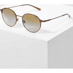 Polo Ralph Lauren Okulary przeciwsłoneczne flash brown/gold. Brązowe okulary przeciwsłoneczne męskie Polo Ralph Lauren. Za 559,00 zł.