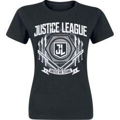 T-shirty damskie: Justice League United Koszulka damska czarny