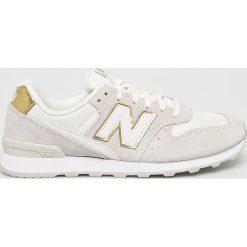 New Balance - Buty WR996FSM. Szare buty sportowe damskie New Balance, z gumy. W wyprzedaży za 299,90 zł.