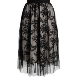 Spódniczki trapezowe: Navy London DAISY Spódnica trapezowa black