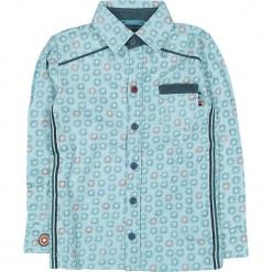 """Koszula """"This Is How We Do It"""" w kolorze błękitnym. Niebieskie koszule chłopięce marki 4FunkyFlavours Kids, z klasycznym kołnierzykiem. W wyprzedaży za 102,95 zł."""