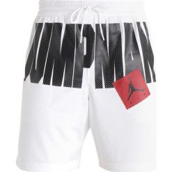Bermudy męskie: Jordan JUMPMAN AIR SHORT Krótkie spodenki sportowe white/black
