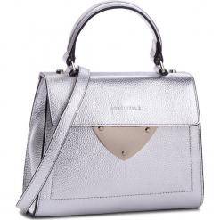 Torebka COCCINELLE - C05 B14 E1 C05 55 77 01 Silver Y69. Szare torebki klasyczne damskie Coccinelle, ze skóry. W wyprzedaży za 769,00 zł.