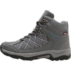 KangaROOS LOOP HIGH Buty trekkingowe steel grey/faded blue. Szare buty trekkingowe damskie KangaROOS, z gumy, outdoorowe. W wyprzedaży za 255,20 zł.