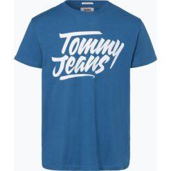 T-shirty męskie: Tommy Jeans – T-shirt męski, niebieski