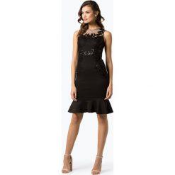 Lipsy - Damska sukienka wieczorowa, czarny. Czarne sukienki balowe Lipsy, z haftami. Za 499,95 zł.