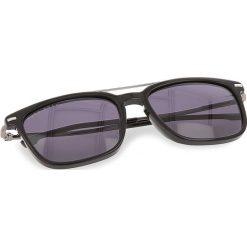 Okulary przeciwsłoneczne damskie aviatory: Okulary przeciwsłoneczne BOSS – 0930/S Black 807