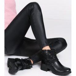 Czarne Botki Zeeshan Czarne botki damskie Multu. Za 49,99