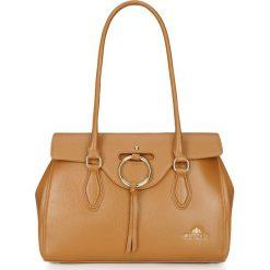 Torebka damska 86-4E-380-5. Brązowe torebki klasyczne damskie Wittchen, duże, z frędzlami. Za 429,00 zł.