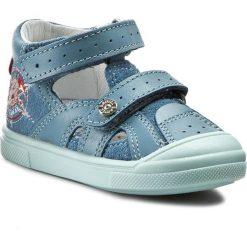 Sandały BARTEK - 81237-D54 Niebieski. Niebieskie sandały męskie skórzane Bartek. W wyprzedaży za 119,00 zł.