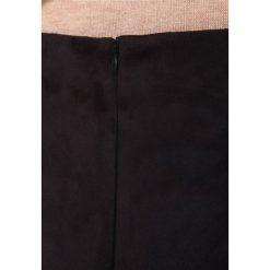 Spódniczki trapezowe: CeHCe Spódnica z zakładką schwarz